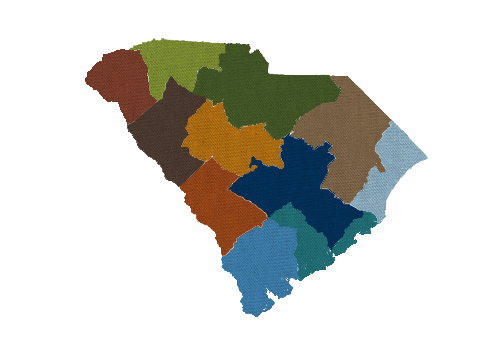South Carolina SCATR Regions
